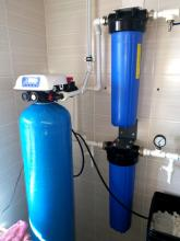 Система очистки воды в поселок Первозванный